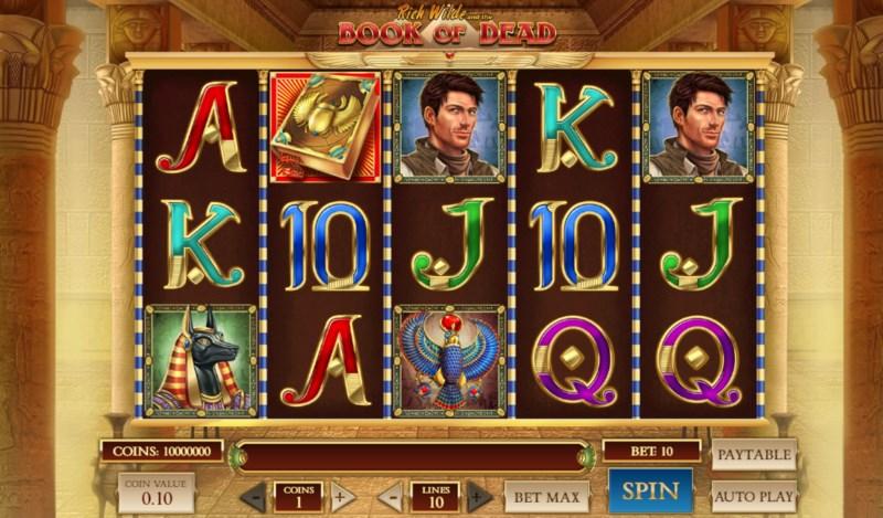 Book of Dead Slots Review & Bonus: The next Egyptian Slot star?