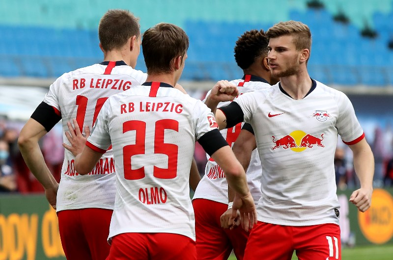 Leipzig celebrate