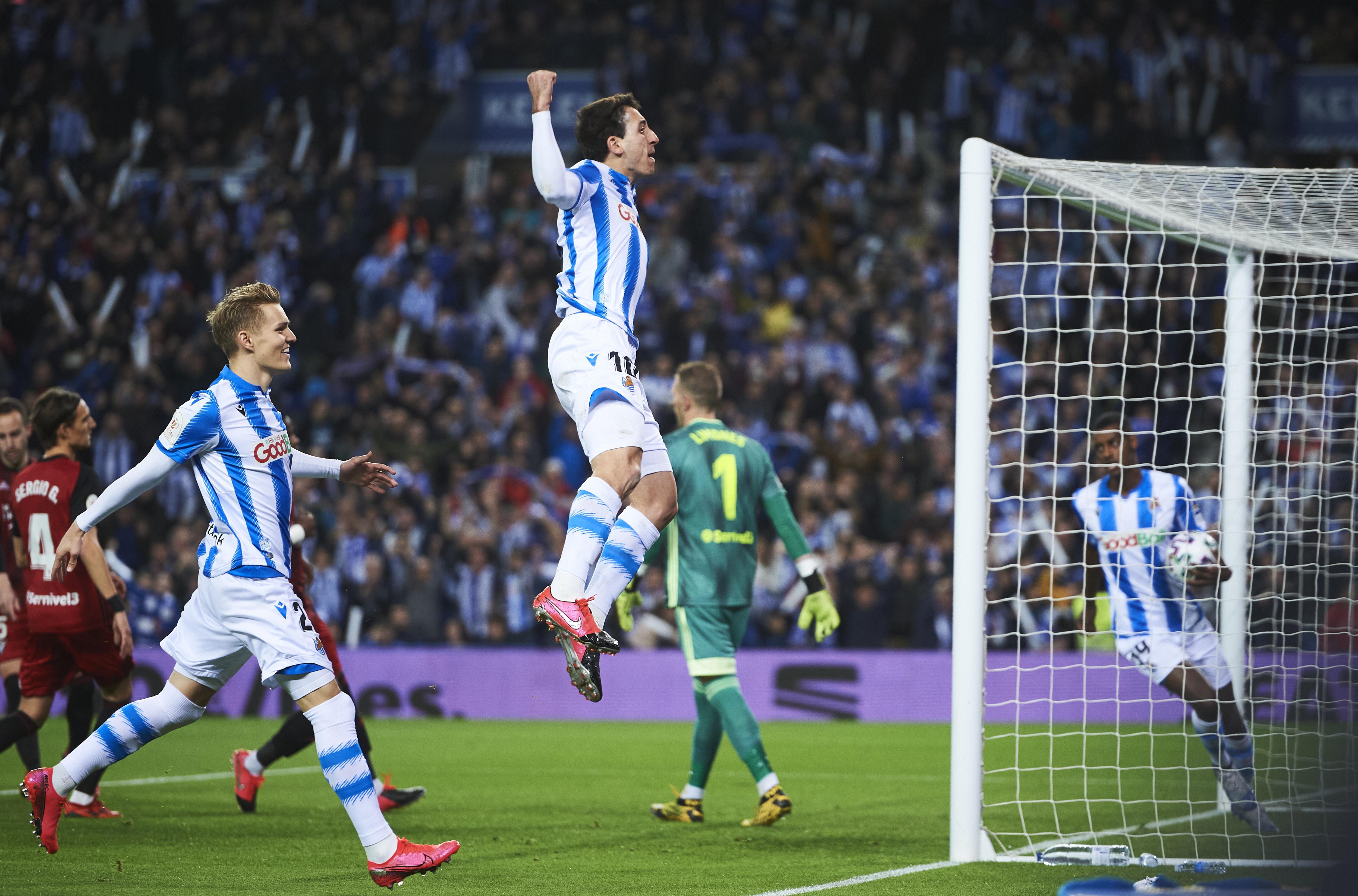 Real Sociedad score