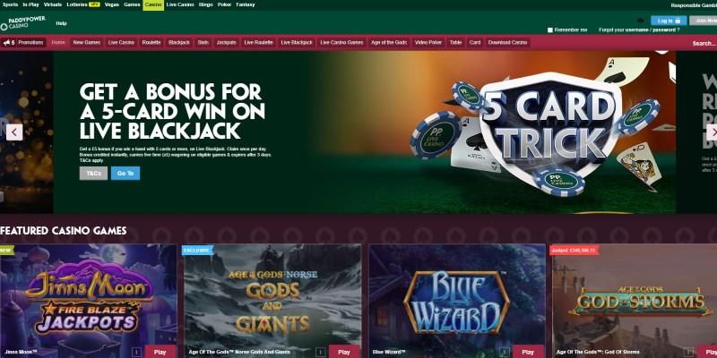 Paddy Power Casino Promo Codes