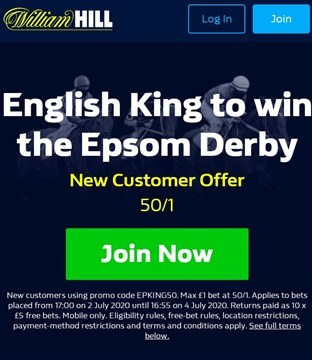english king derby price boost