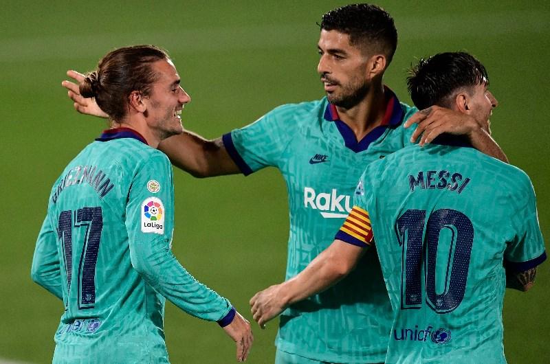 Messi Suárez Griezmann