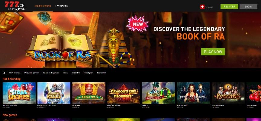 Casino777 Website