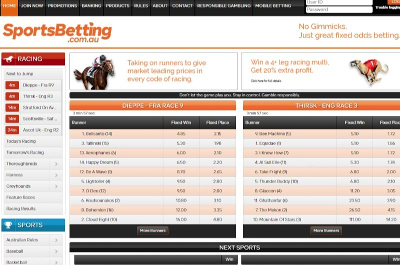 Sports betting online australia visa jaxx golf uk betting