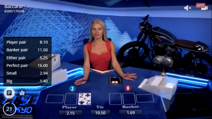 Bet on Baccarat Betting