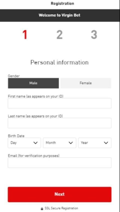 virgin bet sign up offer