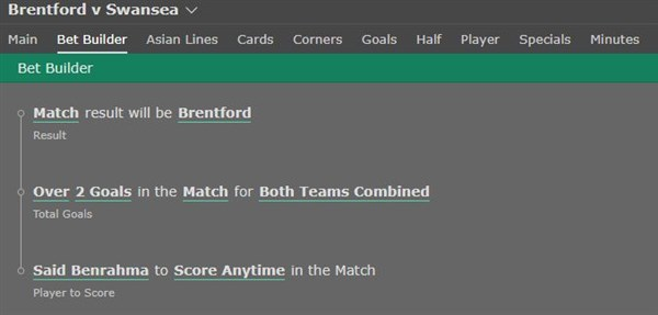 Brentford vs Swansea BB