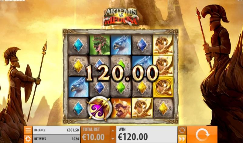 Artemis Vs Medusa Slots Win
