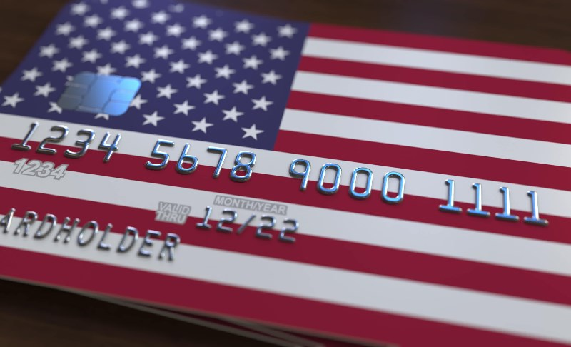 American credit card for online casino