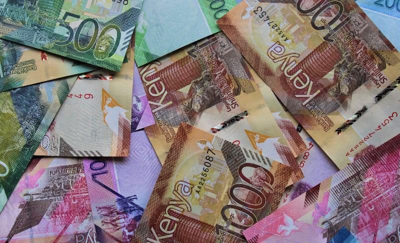 Kenyan shillings for gambling