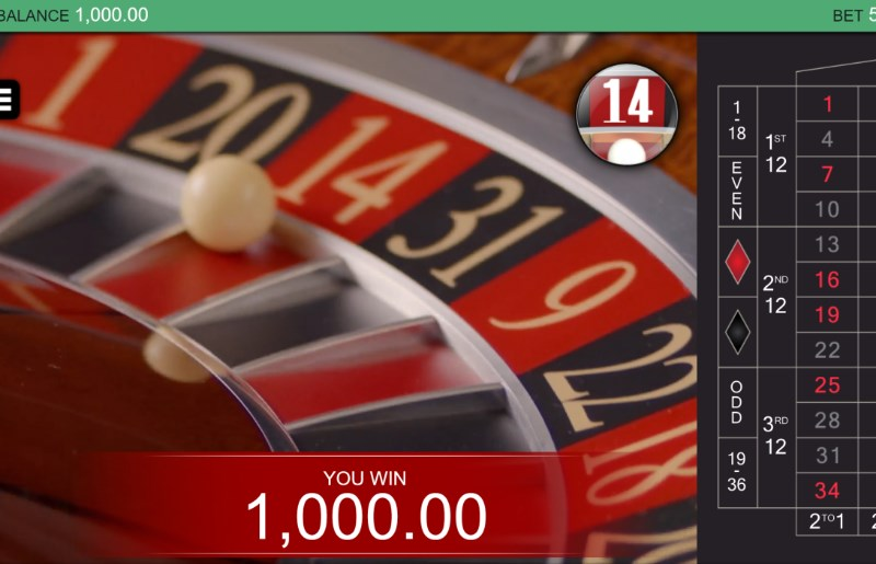 Real Roulette with Caroline Win