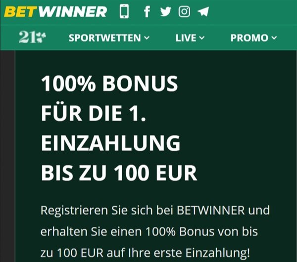 Betwinner Registrieren