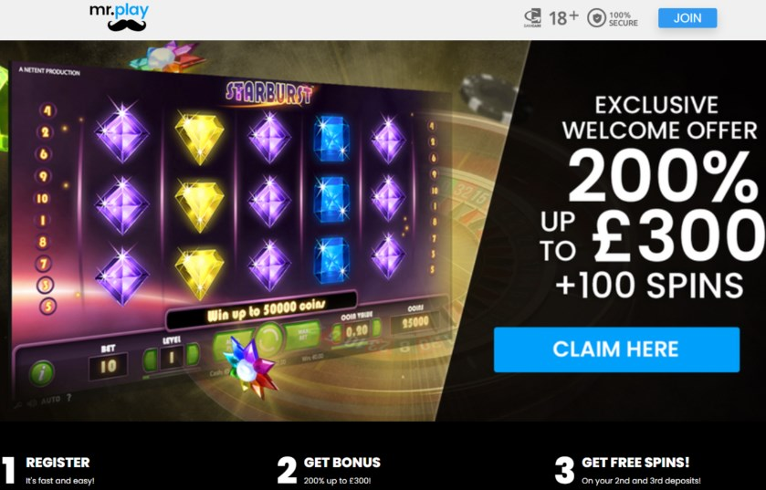 mr play casino bonus code NEWBONUS