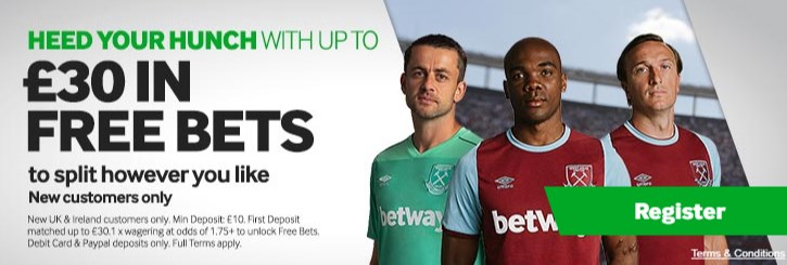 betway sign up code