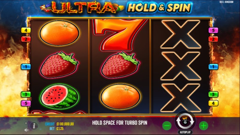 Ultra Hold and Respin Slots