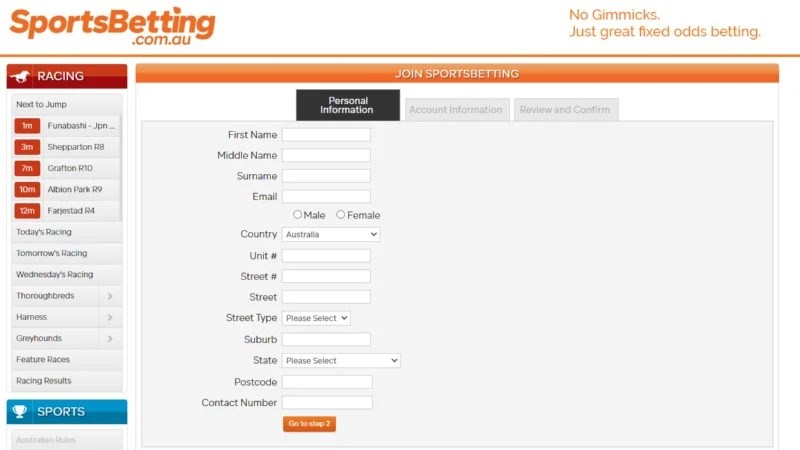 sportsbetting.com.au deposit bonus