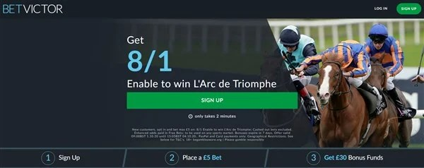 BetVictor Enable Offer