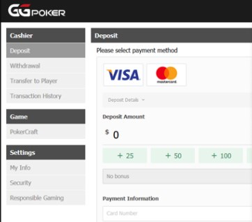 ggpoker payment methods