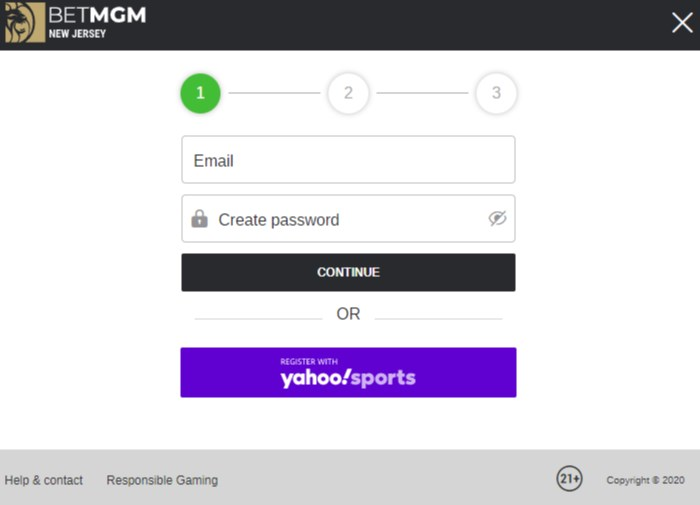 betmgm sign up