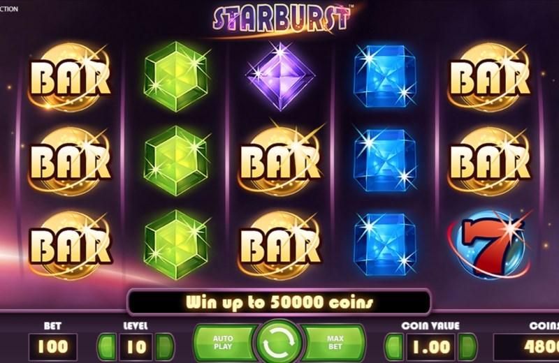 Starburst Jackpot symbol