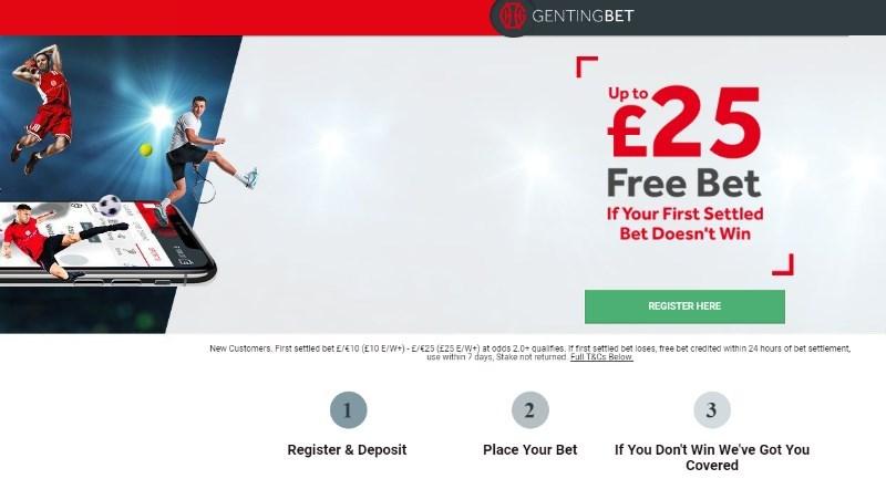 GentingBet Promotion Code NEWBONUS