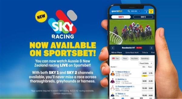 online race betting australia