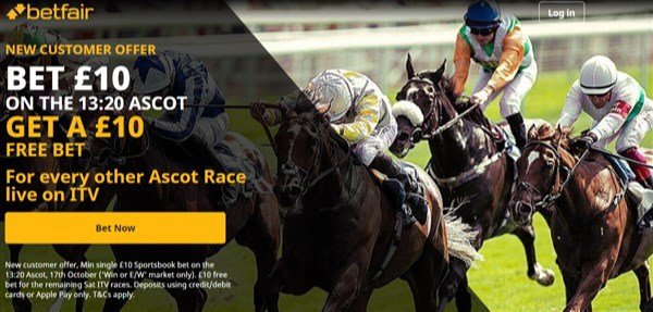 betfair BTTC offer Ascot