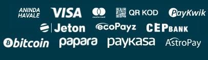 Bahsegel payment methods