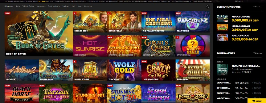 Energy Casino Slots Games