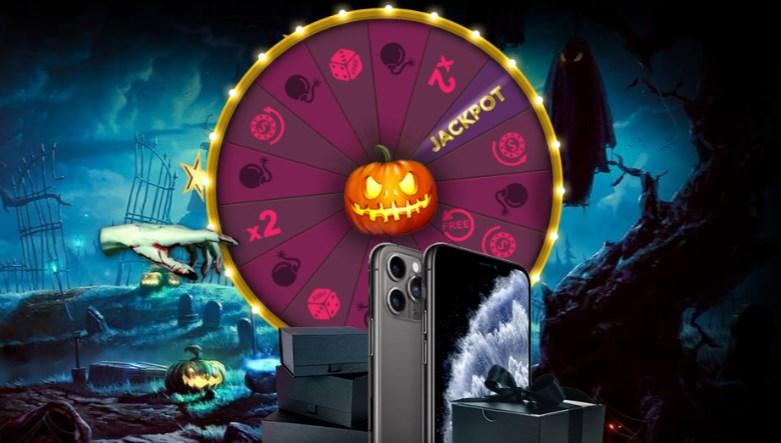 Lucky Halloween Wheel Promotion