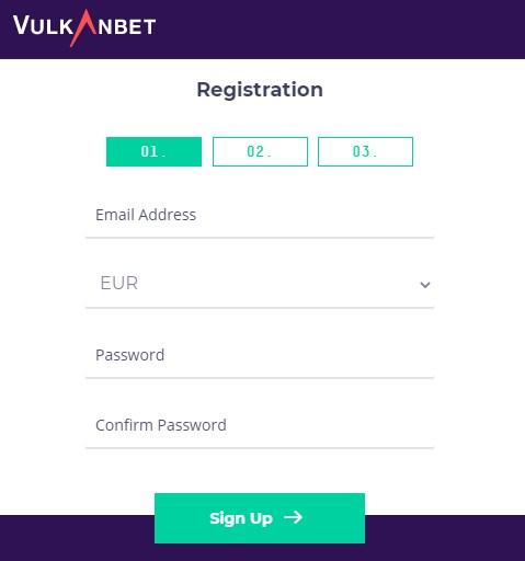 VulkanBet Bonus Code