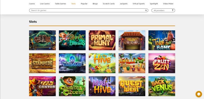 ZevCasino Online Slots