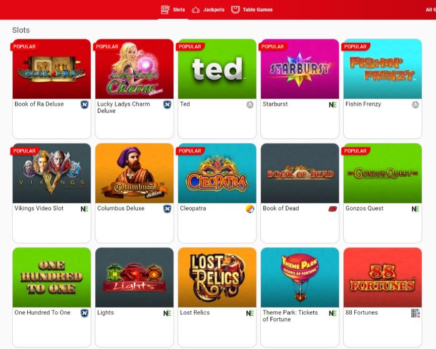 Gentingbet Casino Games
