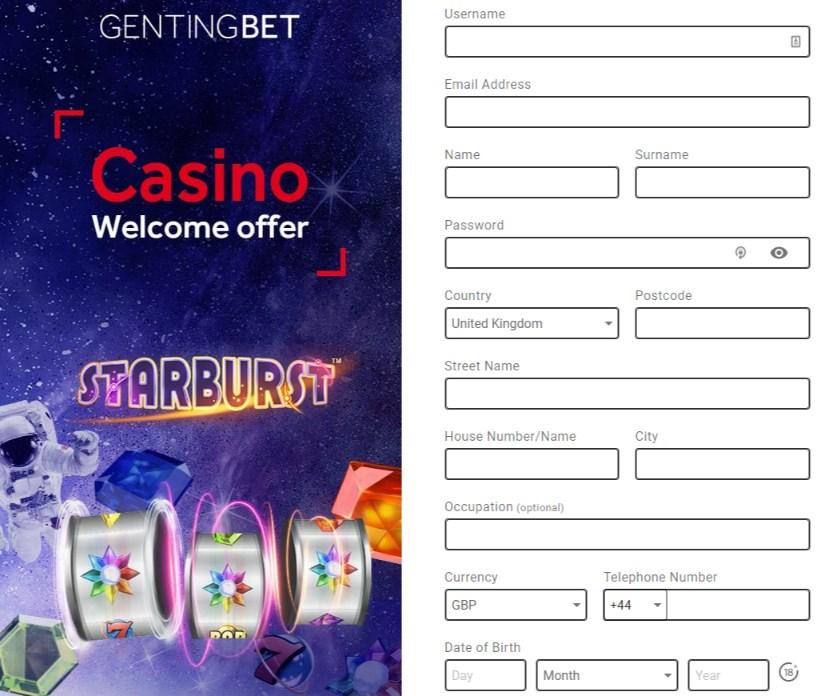Gentingbet Registration