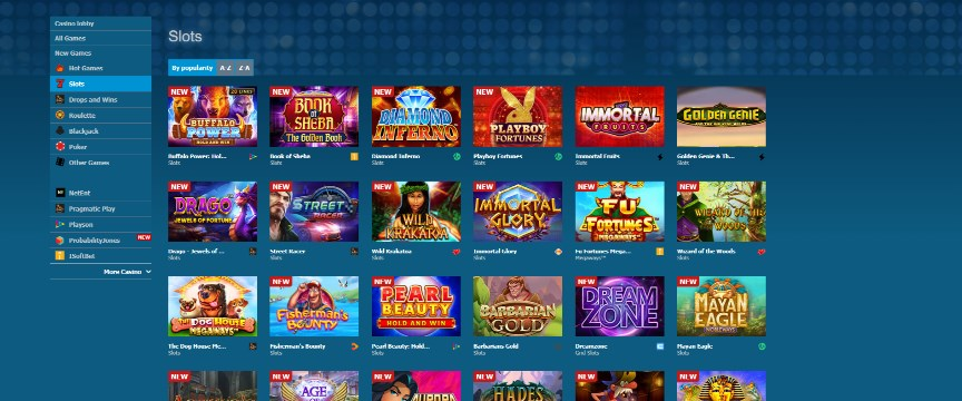 Betworld Casino Games