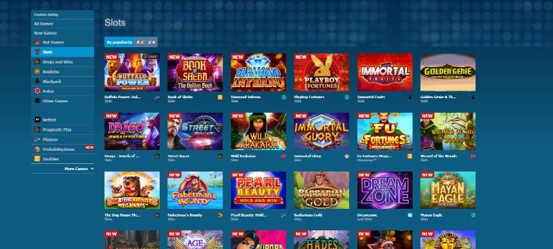 Betworld Casino Games