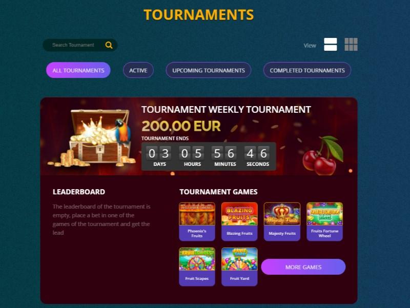 Casino Alpha Tournaments