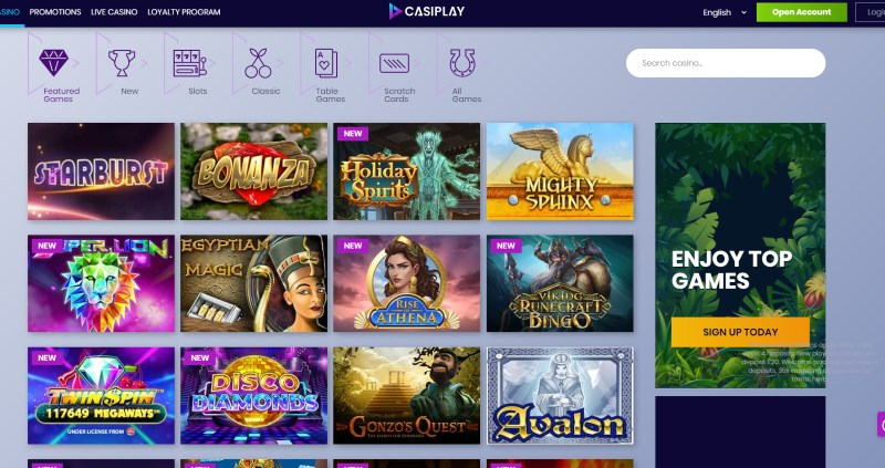 Casiplay Games Lobby