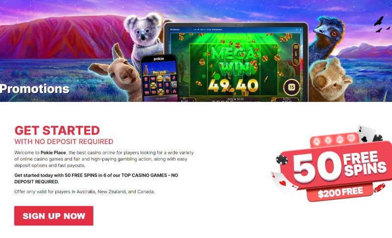 Pokie Place Promotions