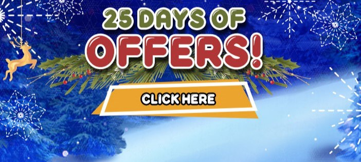 25 Days of Offers Mayfair Casino