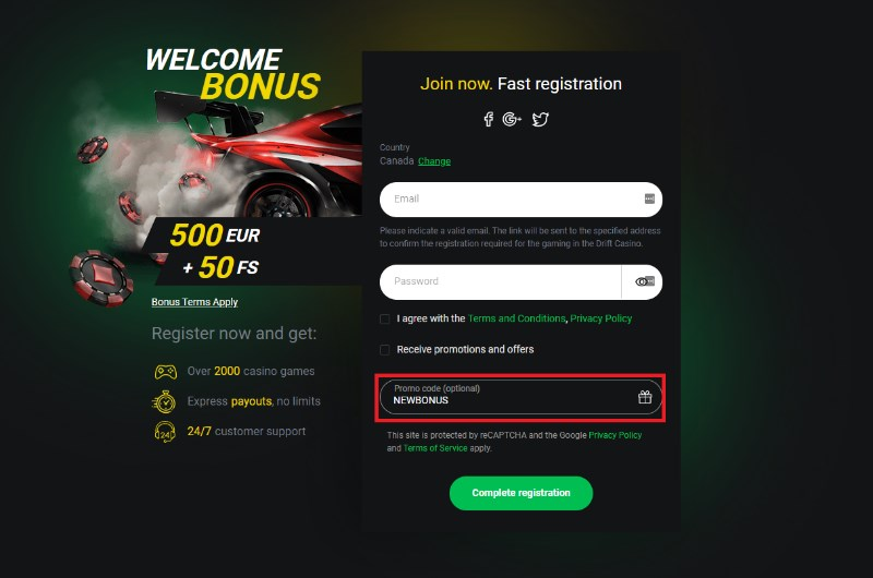 Best Casino Promo Code