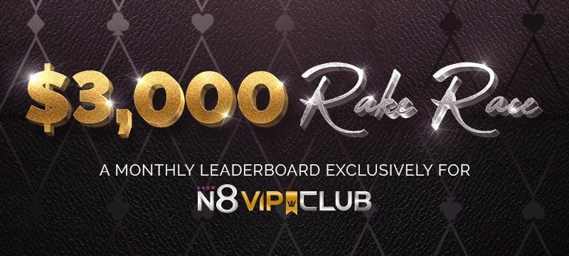 N8 VIP Club Rake Race