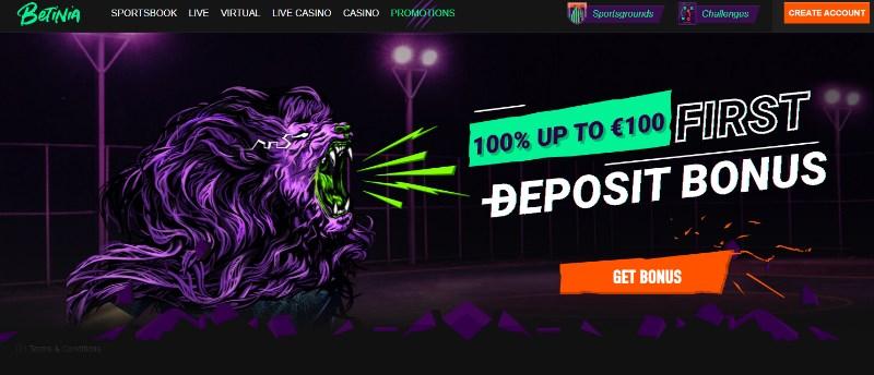 Betinia Promo Code NEWBONUS - 200 PLN bonusu