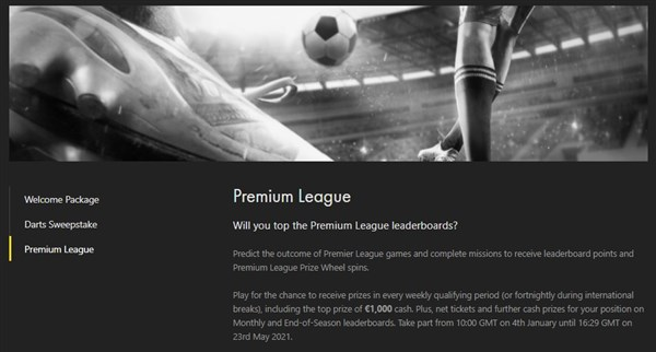 Bet365 Poker Premium League Win Up To 1 000 As Poker Meets Football