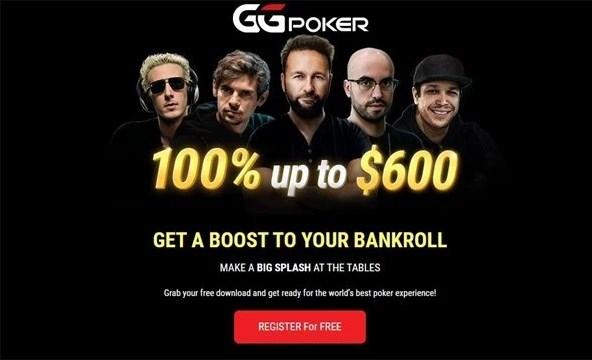 ggpoker welcome bonus 600