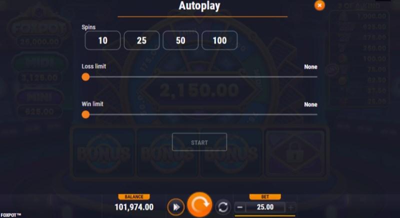 Foxpot Autoplay