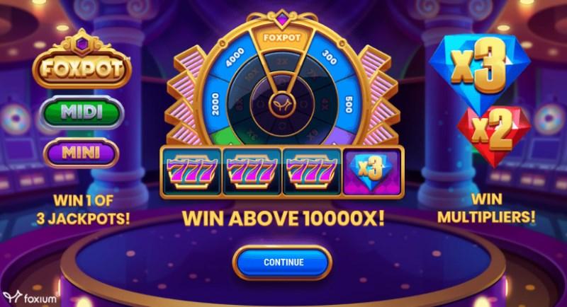 Foxpot Slot Bonus Wheel