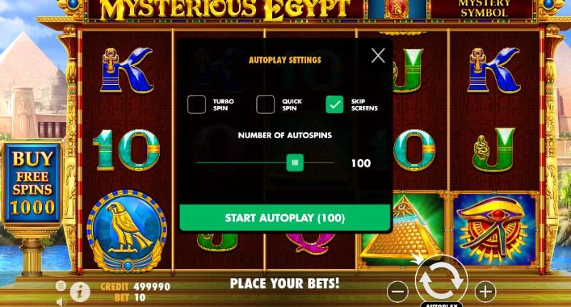 Mysterious Egypt Autoplay