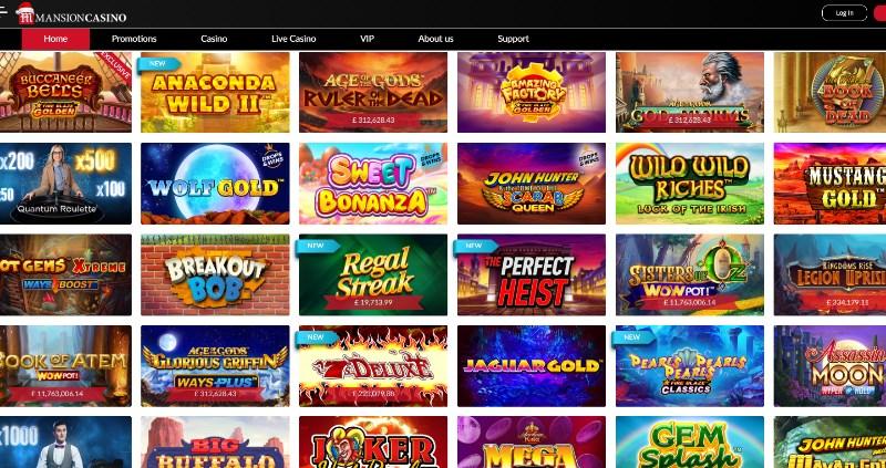 Mansion Casino Slots