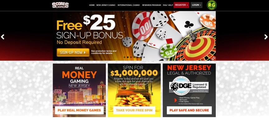 Scores Online Casino